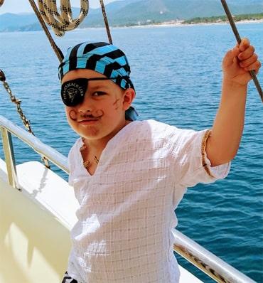 Пиратский аквагрим